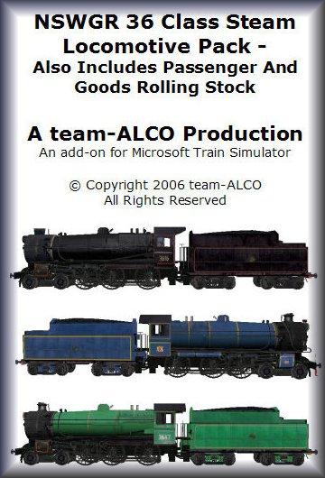 team-ALCO - Quality Australian Add-Ons for MS Train Simulator: NSWGR